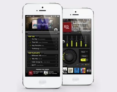 Press Play iPhone Music App