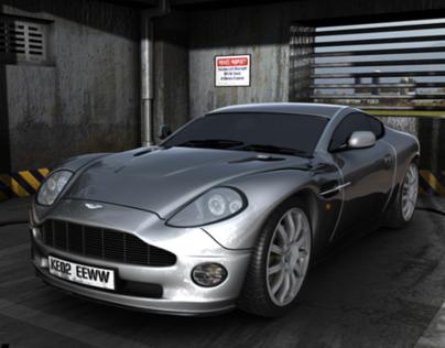 Aston Martin Vanquish 3d