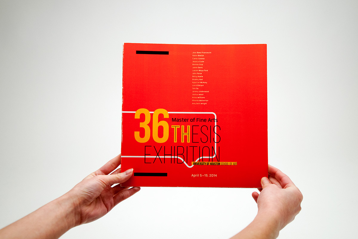 MFA Thesis Catalogue and Collateral