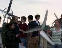 Alternative Energy - Students build wind turbines