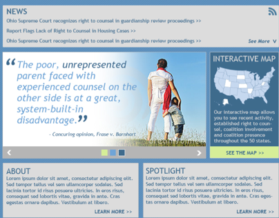 NCCRC Web Redesign