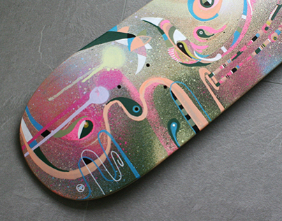 Flamingo Skate Deck