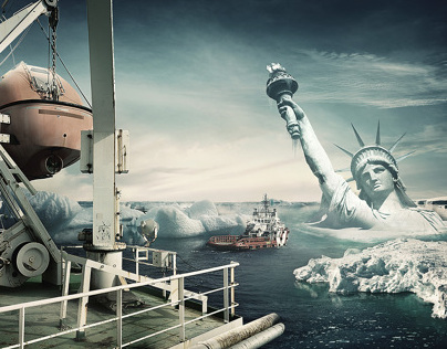 Statue of Liberty - Photo manipulation