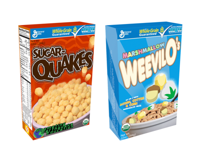 Educational Cereal Boxes