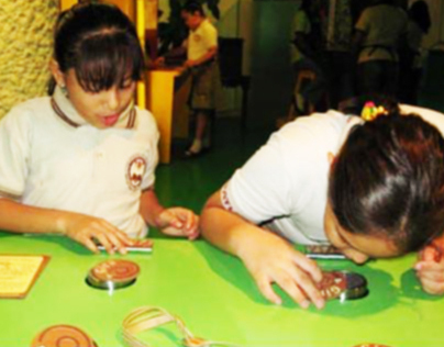 "Interactive Exhibition ""Cacao y chocolate"
