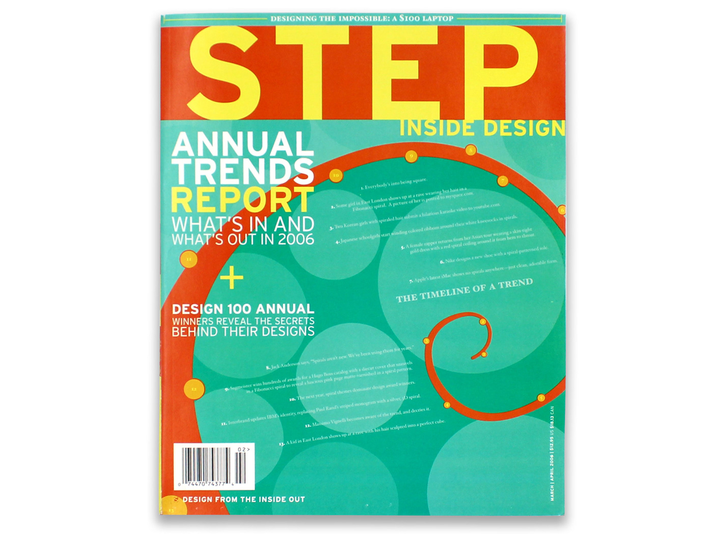 STEP Inside Design Magazine Cover
