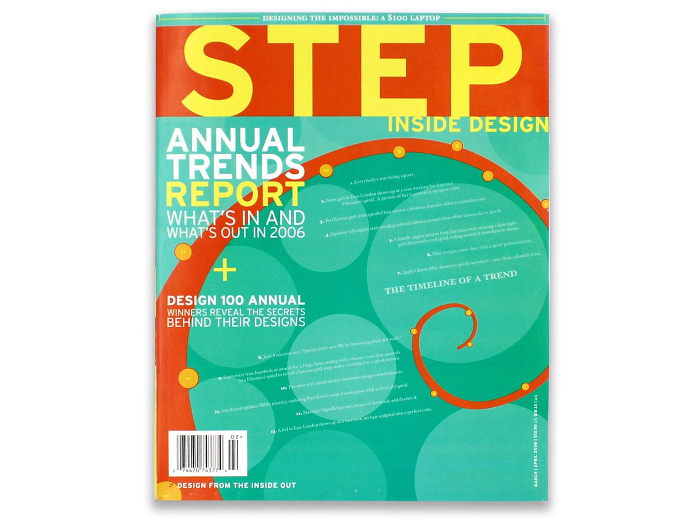STEP Inside Design Magazine Cover