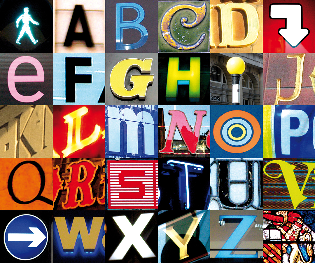 TYPOGRAPHY V1 - The Mancunian Alphabet continues on...