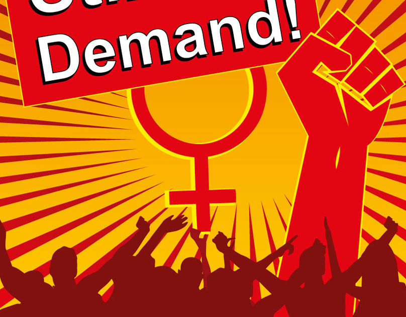 8th March International Womens Day Poster