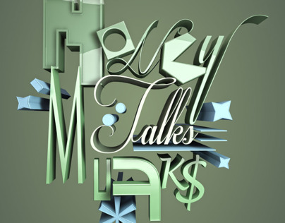 Money Talks Typography
