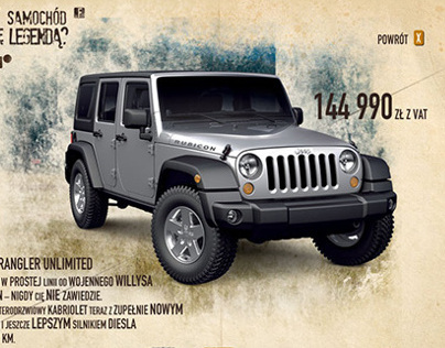 Jeep Icon / website, direct mail /