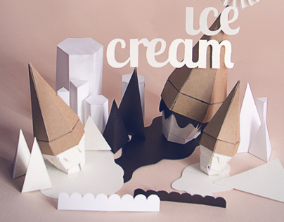 Ice Cream Paperscape