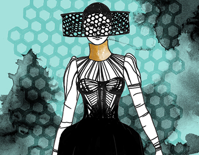 Illustrated Fashion: McQueen