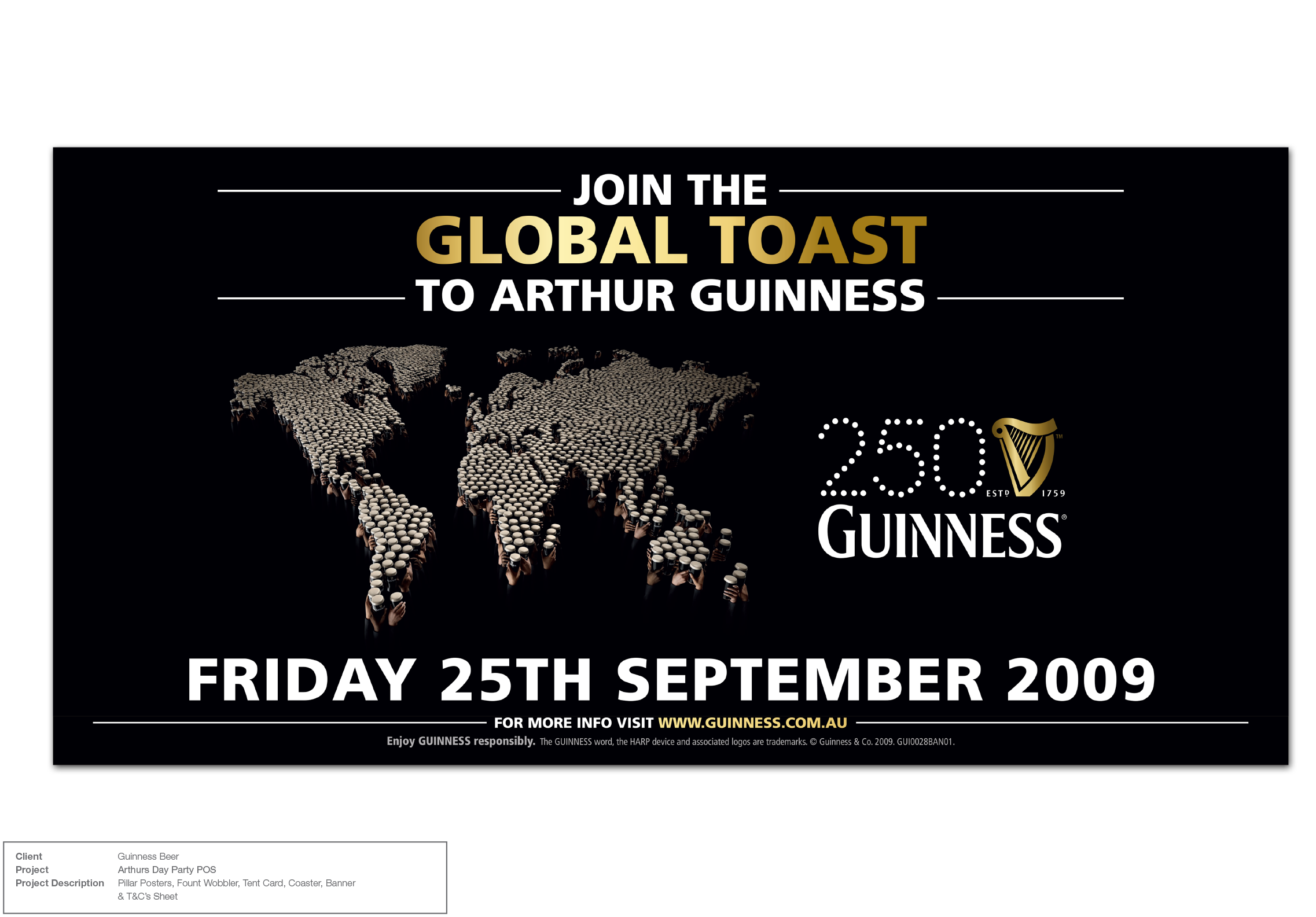 Guinness Global Party Promotion