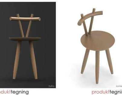 GEVIR - chairmodelling in Solidworks