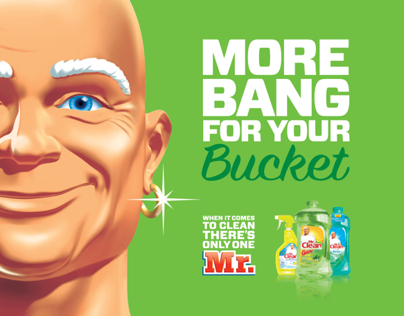 MR. CLEAN: Print and Online