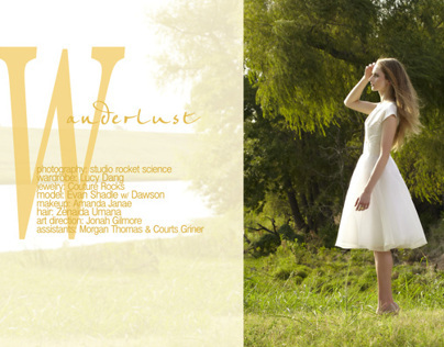 Wanderlust, fashion editorial