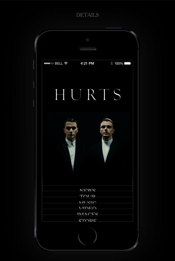 HURTS Fan App