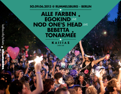 Kallias / Open Air Season 2013 / Poster & Flyer