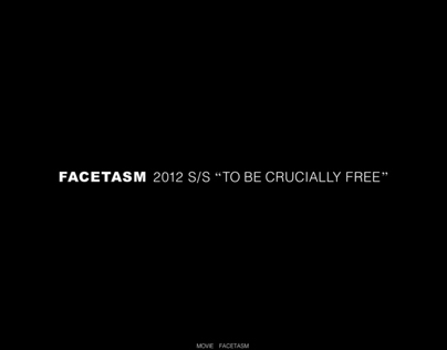 FACETASM 2012 S/S Collection Website