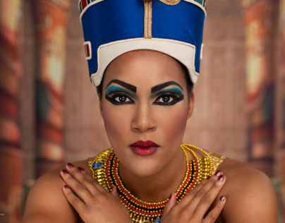 Egyptian Themed Shoot - Queen Nefertari