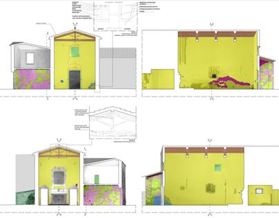 Restoration of a Hamlet in Arezzo, Italy