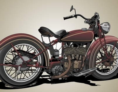 Vector Indian Motorcycle