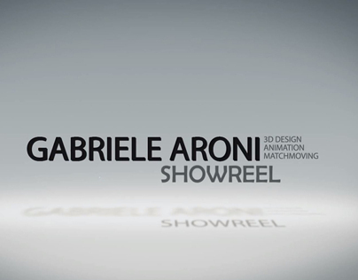 3D Animation Showreel