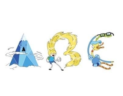 Adventure Time Alphabet