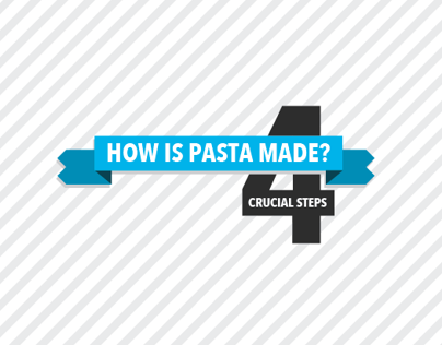 [INFOGRAPHIC] Four Crucial Steps To Making Pasta