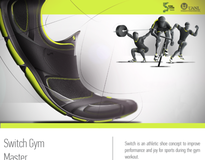 Switch Gym Master // Concept Fitness Footwear