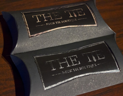 """The Tie"" Branding/Packaging"
