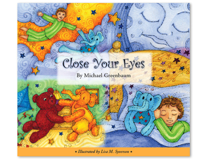 "Children's Book: ""Close Your Eyes"""