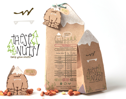 These Nuts: Help Grow Stuff - Packaging