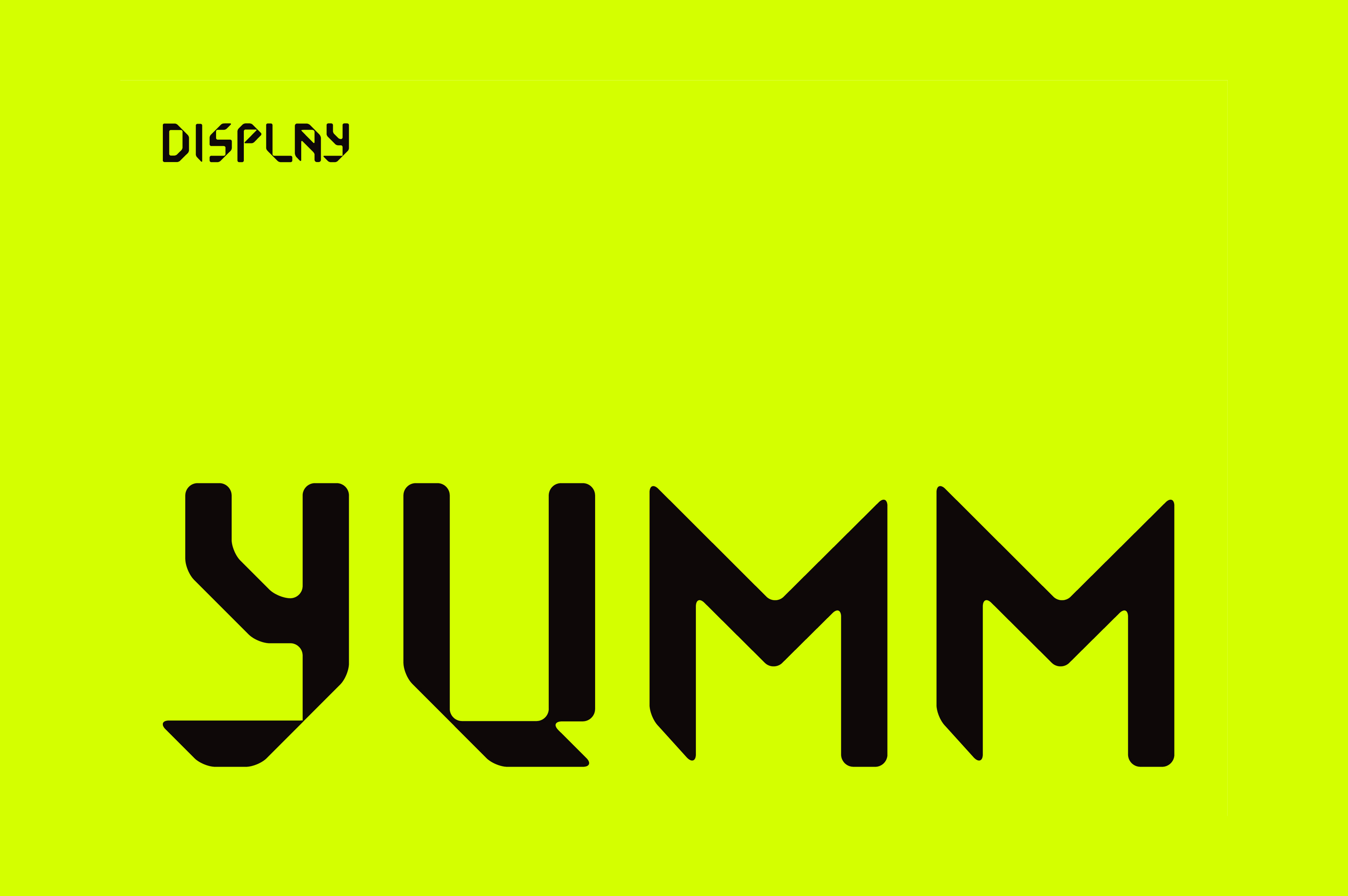 YUMM SANS TYPE
