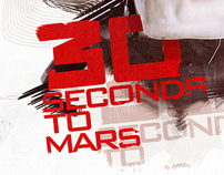30 seconds to mars T-SHIRT