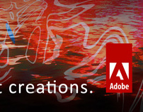 My creation of a magazine ad for Adobe.