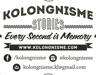 Kolongnisme Stories Business Card