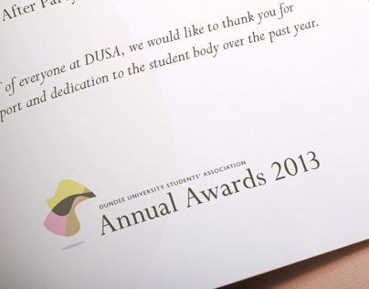DUSA Annual Awards 2013