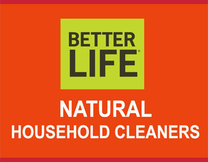 [BANNER] Better Life Natural Household Cleaners