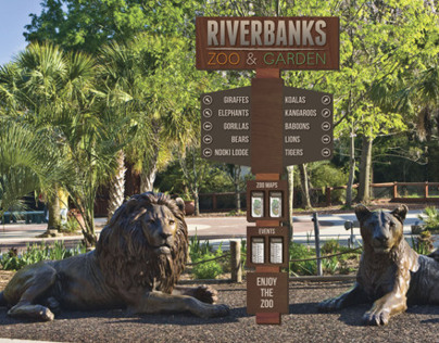 Riverbanks Zoo Signage