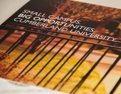 University Trifold Brochures