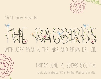 The Ragbirds Poster