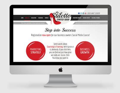 Stiletto Strategies Website