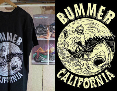 Bummer California Shirt Graphic