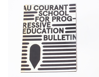 Au Courant: School For Progressive Education / Bulletin