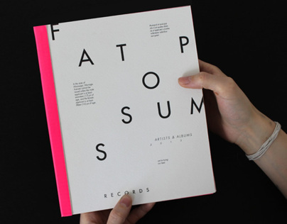 Fat Possum Artist Booklet