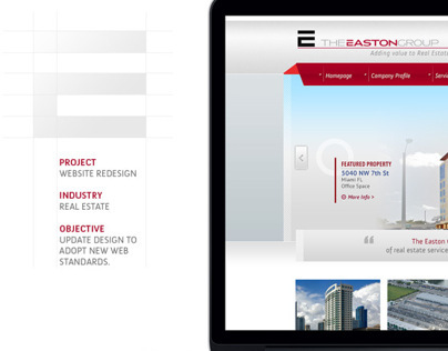 The Easton Group | Web Design
