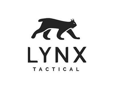 Lynx Tactical. Name, logo, visual identity, webshop.