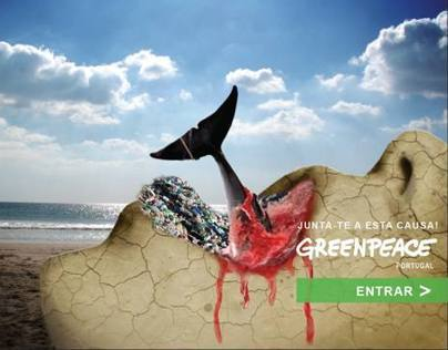 Greenpeace Campaign (academic project)